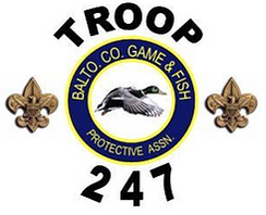Troop 247 Baltimore County Game & Fish